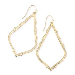 Kendra Scott Gold Sophee Earrings